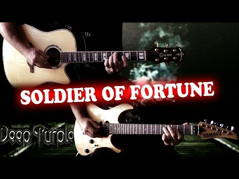 Deep Purple - Soldier Of Fortune FULL Guitar Cover
