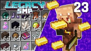Interdimensional Piglin Bartering Farm - Legacy SMP #23 (Multiplayer Let's Play) | Minecraft 1.16