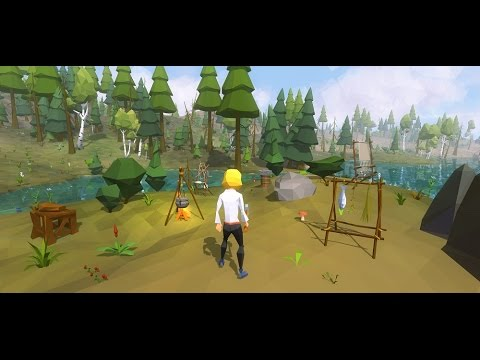Best 3d Live Wallpaper For Pc Ylands Low Poly Survival Game Youtube