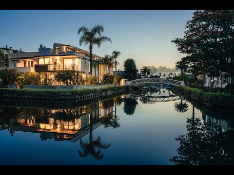 $5 MILLION ARCHITECTURAL STUNNER IN THE ICONIC VENICE CANALS | 2218 Grand Canal Court