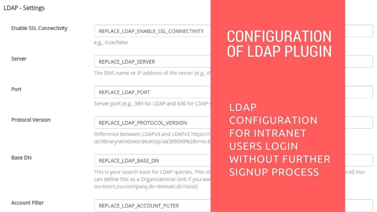 LDAP - Document - Restyaboard