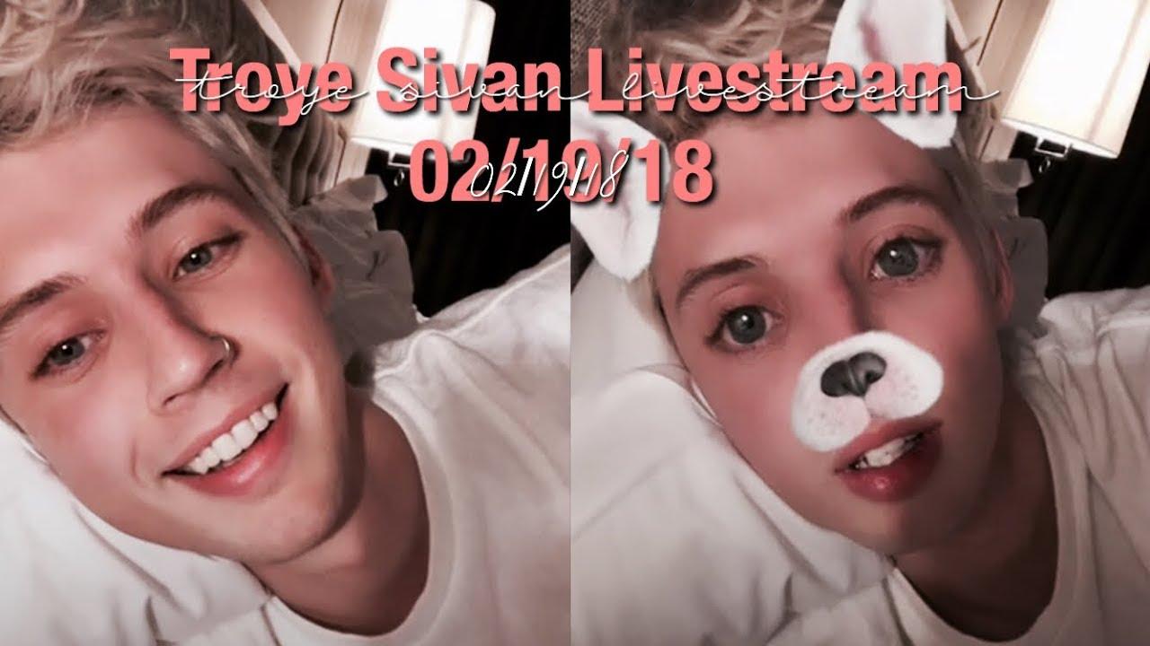 Troye Sivan Instagram Livestream - 02/19/18 - YouTube