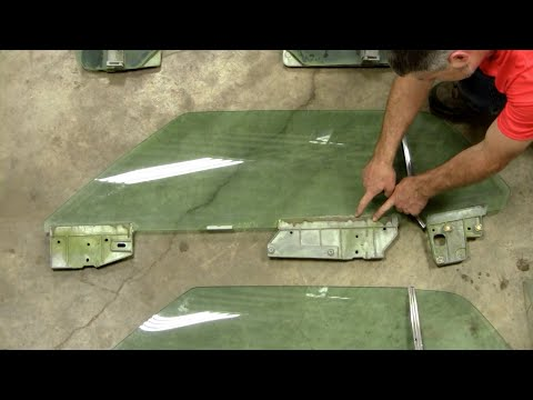 How to install carpet into a classic mustang for 1965 mustang window adjustment