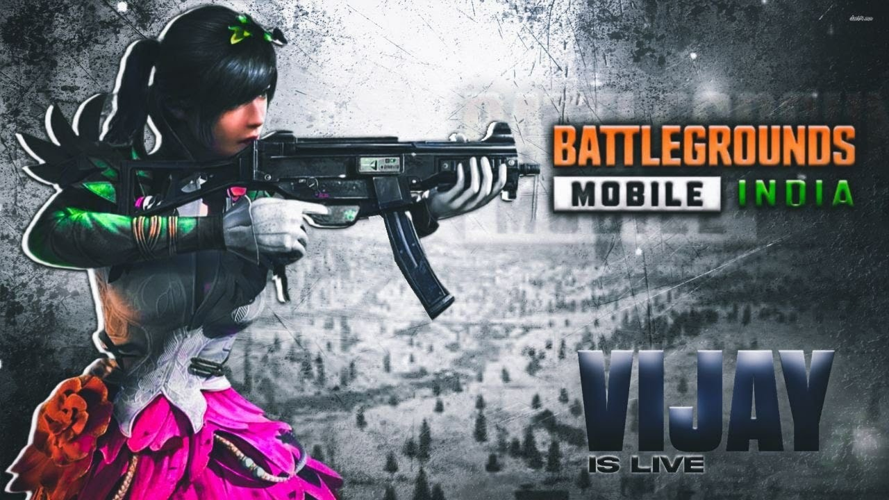 BATTLE GROUNDS MOBILE INDIA #PUBG #VIJAY GAMING