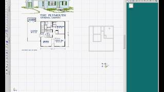 Turbocad  Drawing House Plans 2, Creating Doors And Windows