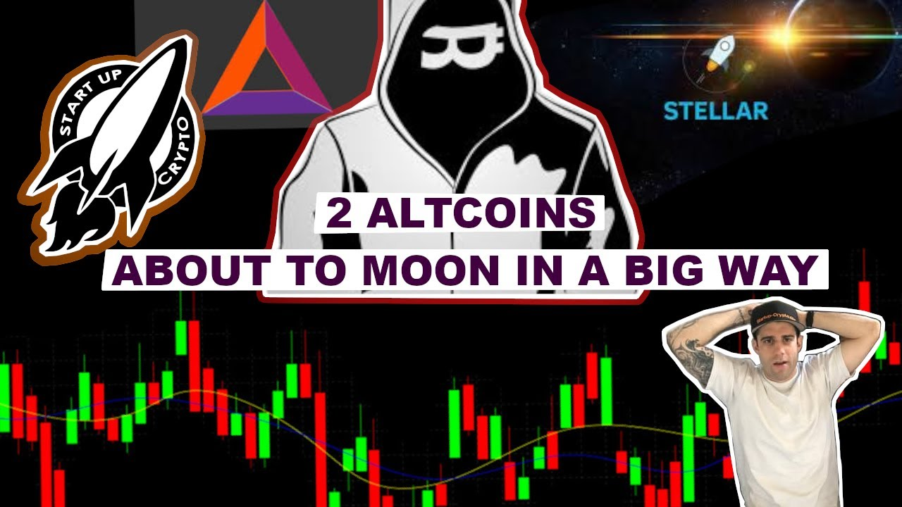 2 ALTCOINS THAT ARE ABOUT TO MOON IN A BIG WAY (BAT & XLM) 6