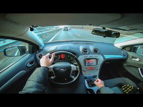 Ford Mondeo 4 от первого лица. FORD MONDEO 4 POV DRIVING