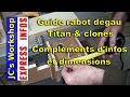 Compléments d'infos guide rabo dégau Titan & clones - EXPRESS INFOS #001