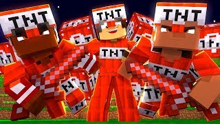 Minecraft: MLG PVP - LUCKY BLOCK TNT!