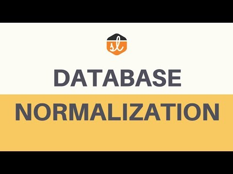 Basic Concept of Database Normalization - Simple Explanation for Beginners