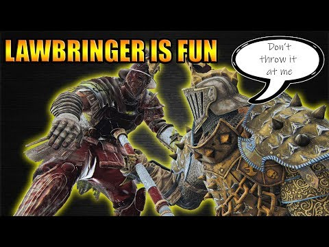 Lawbringer is fun [For Honor]