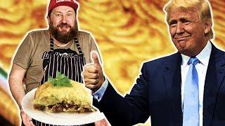 КАРТОФЕЛЬНАЯ ЗАПЕКАНКА с фаршем ТРАМПИКАНКА. Любимое блюдо Дональда Трампа. ВИДЕО РЕЦЕПТ
