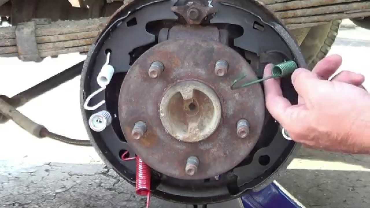 drum brake replacement FORD TRUCK BRONCO RANGER Bronco 2