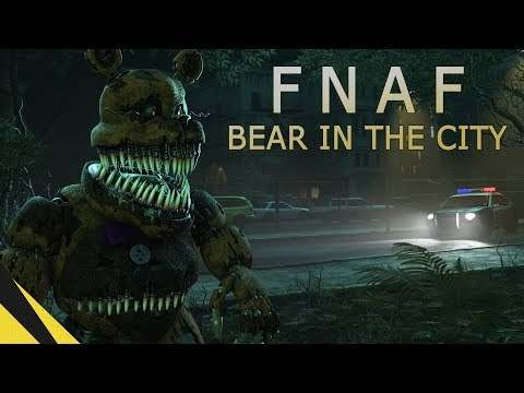 FIVE NIGHTS AT FREDDY'S: BEAR IN THE CITY | FNAF Animation Movie