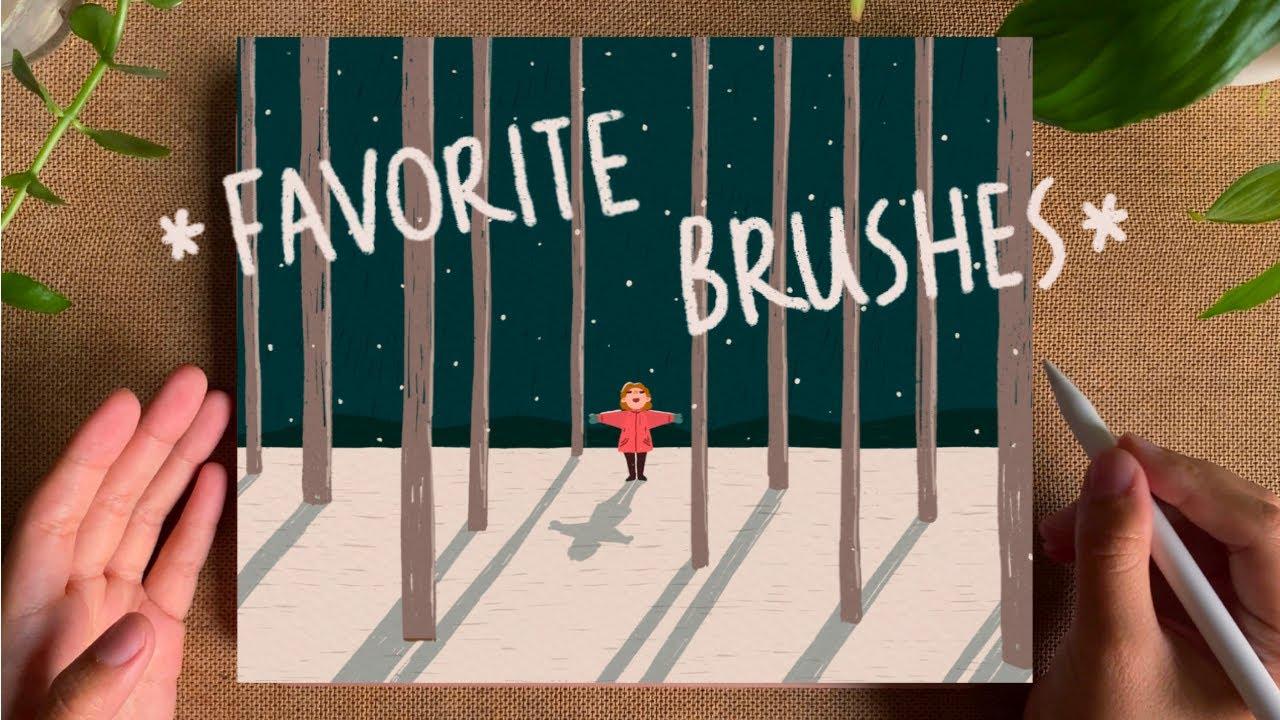 my favorite procreate brushes 🖌