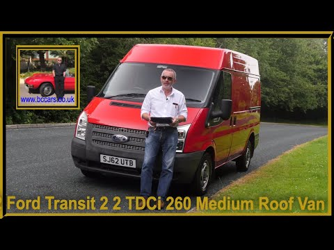 Review and Virtual Video Test Drive In Our 2012 Ford Transit 2 2 TDCi 260 Medium Roof Van Duratorq 3