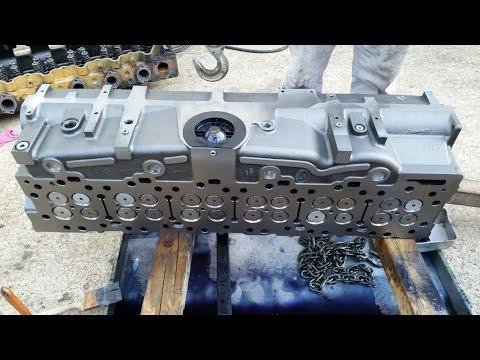 #6. Капитальный ремонт двигателя, Катерпиллер 3406Е / С15. Caterpillar 3406E / C15 Inframe Overhaul.