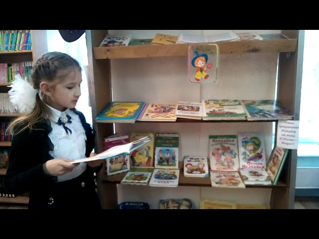 Изображение предпросмотра прочтения – КаринаМусина читает произведение «Фантазёры» Н.Н.Носова