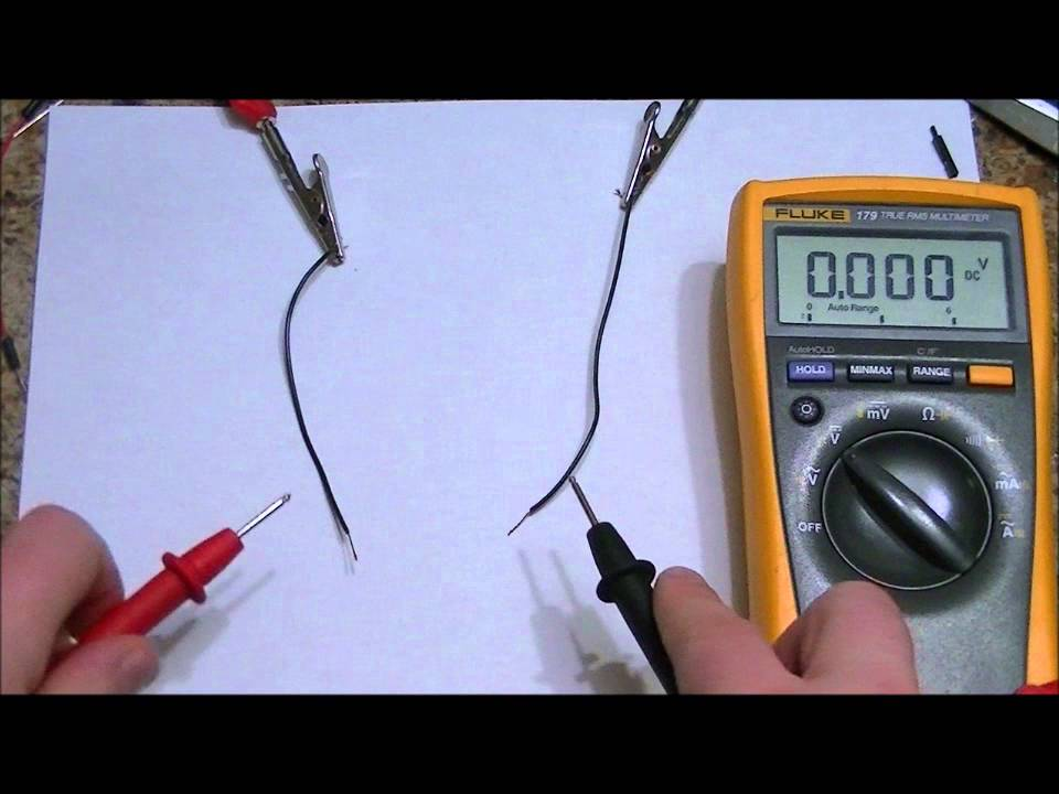 maxresdefault how to quickly determine the polarity of your dc power supply with how to check wiring harness with multimeter at eliteediting.co