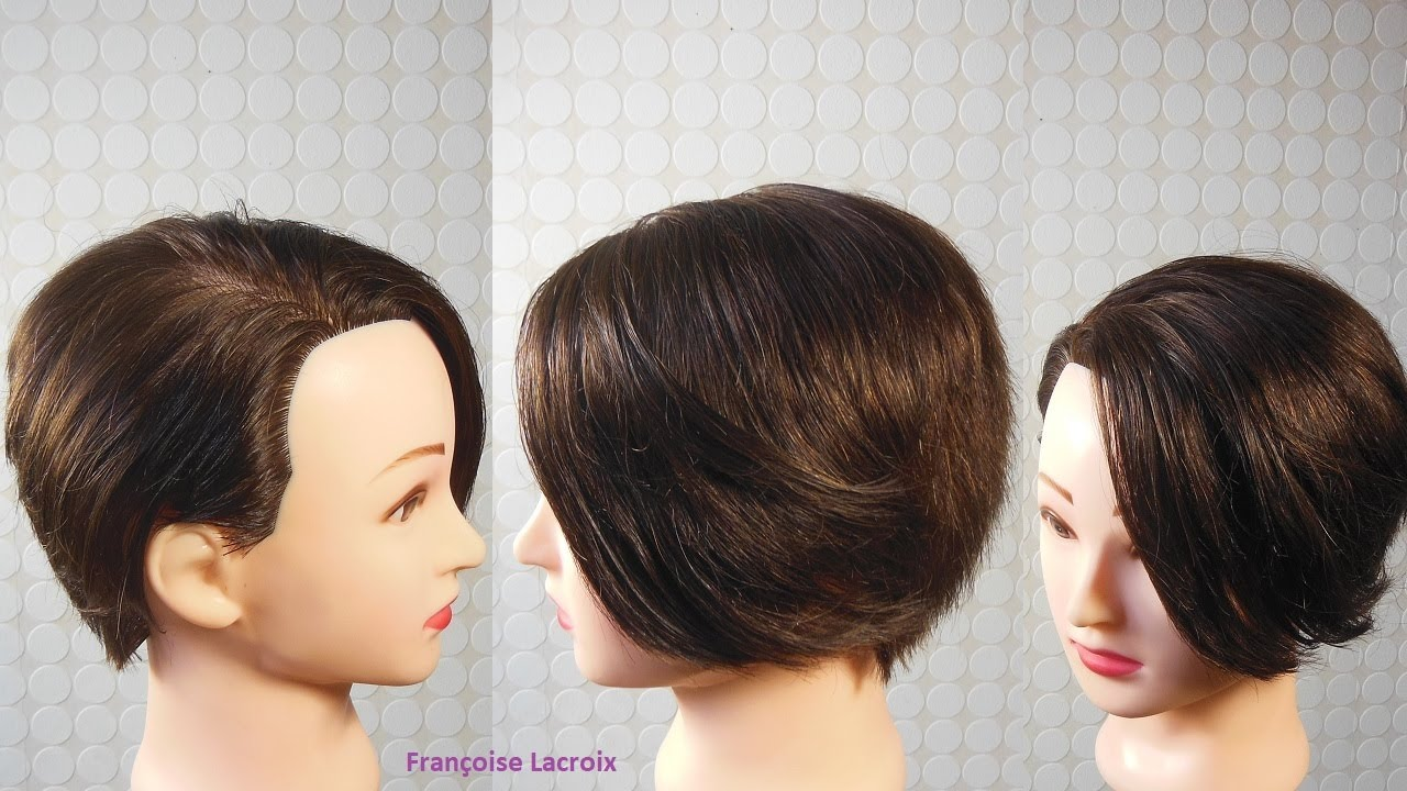 Coupe femme courte d grad e m che longue c t short haircut for women corte de pelo corto - Coupe degradee courte femme ...