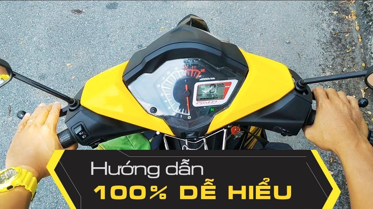Honda Winner 150 | Hướng Dẫn Chạy Xe Tay Côn FULL HD 1080P