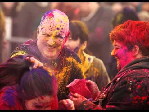 Colour Powder Party In Belfast