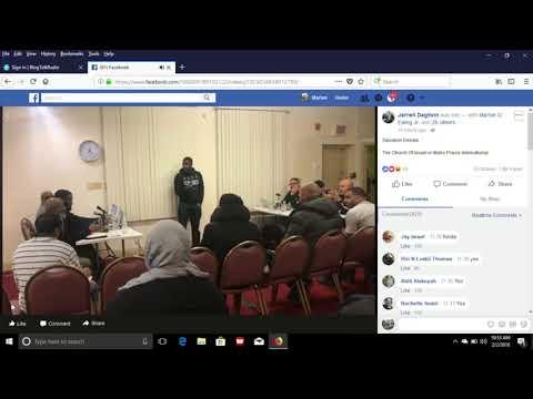 The Church of Israel vs Metro Praise International Debate