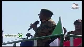 عمر البشير يقول لن نركع الا لله وان السودان لن يرهن قراره للاعداء