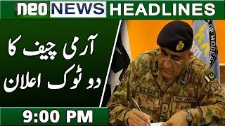 News Headlines | 9:00 PM | 13 December 2018 | Neo News