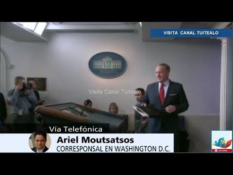 Renuncia el director de Comunicaciones de la Casa Blanca Mike Dubke Video