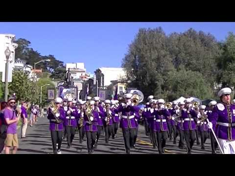 Archbishop Riordan High School Marching Band @ The Columbus Day Parade