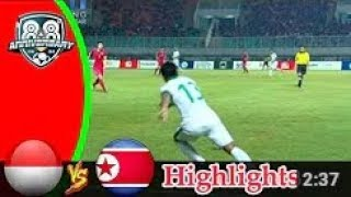 FULL HIGHLIGHTS INDONESIA VS KOREA UTARA (0-0) || PSSI ANNIVERSARY CUP 30/04/2018