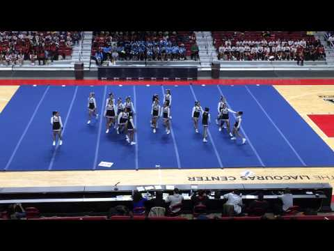 2014 Public League Cheer Competition: Mastery Charter High School All Girl Md Champions
