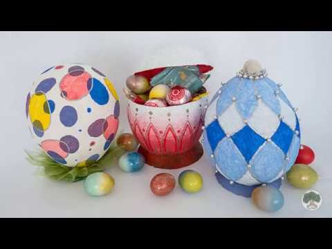 How to Make Piñata Easter Egg Easy DIY Paper Moche
