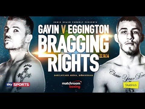 Frankie Gavin Vs Sam Eggington