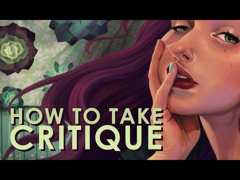 HOW TO TAKE CRITIQUE   Procreate & Ipad Pro SPEED PAINT & TIME LAPSE