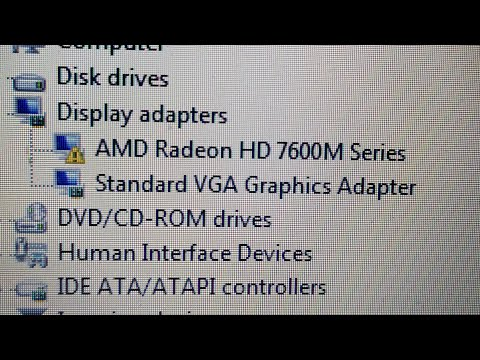 Dell Inspirion 3521 Graphic Card Driver Problem