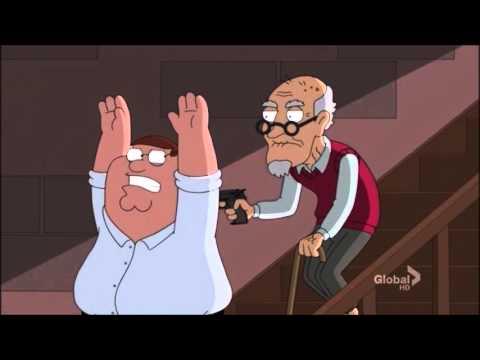 Family Guy - Chris shot Peter