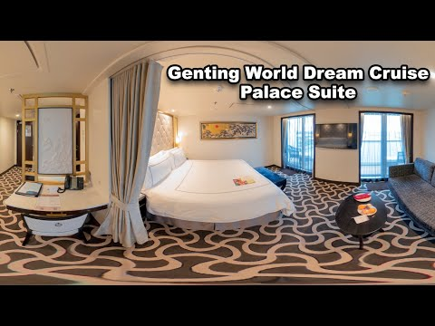 Genting World Dream Cruise Palace Suite