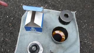 Масляный фильтр UFI 2311401 с пробегом 2 768 км, изнутри.