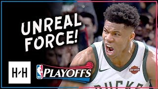 Giannis Antetokounmpo Full Game 3 Highlights vs Celtics 2018 Playoffs - 19 Pts, 6 Ast, EPIC Dunk!