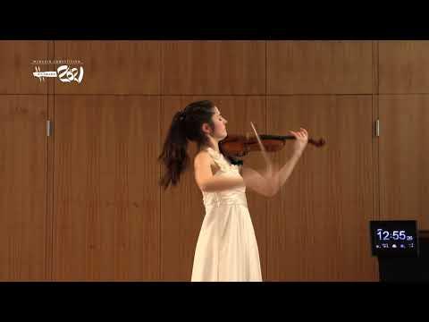 María Dueñas - Menuhin Competition Richmond 2021, Senior First Rounds