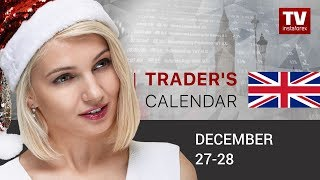 InstaForex tv news: Trader's calendar December 27 - 28: How financial markets to close this year
