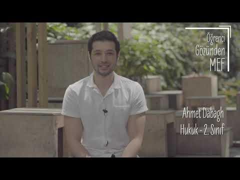 Öğrenci Gözünden MEF Üniversitesi / Ahmet Dabagh -  Hukuk