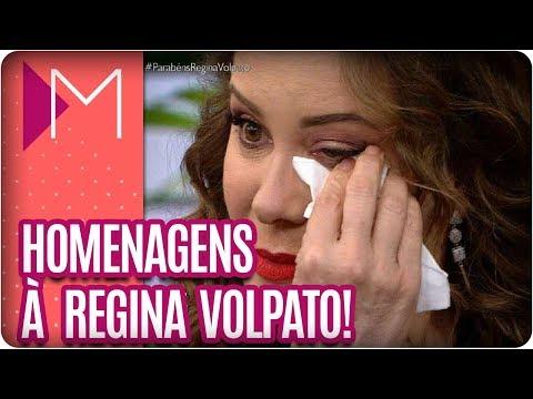 Homenagens de aniversário para Regina Volpato - Mulheres (06/03/18)