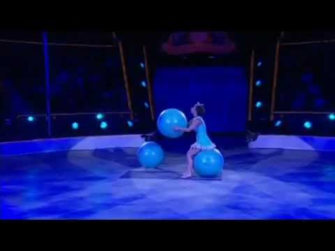 Fitness Balls act Circus Artistic Agency Golden Stars Presents:(artist 00196)