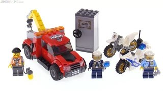 LEGO City Tow Truck Trouble review! 60137