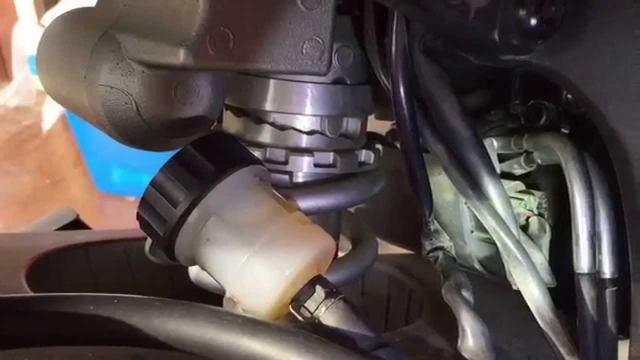 yamaha r6 oil leak from oil pressure sensor
