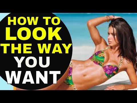 Law of Attraction Technique To CHANGE THE WAY YOU LOOK & Manifest Your Dream Body  (The Secret)
