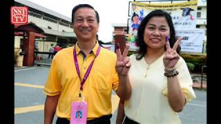 Tg Piai by election: Karmaine, Wee among first to cast ballots